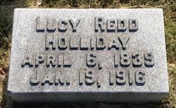 Lucy <i>Redd</i> Holliday