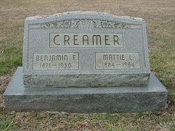 Mattie L. <i>Reed</i> Creamer