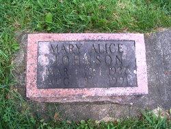 Mary Alice <i>Armstrong</i> Johnson