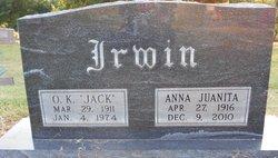 Anna Juanita <i>Heath</i> Irwin
