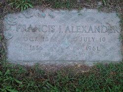 Francis Irwin Alexander