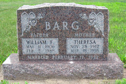 Theresa <i>Schienbein</i> Barg