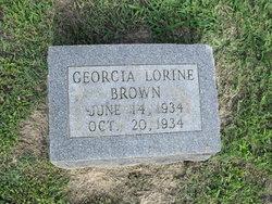 Georgie Lerine Brown