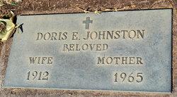 Doris E Johnston