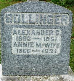 Alexander G Bollinger