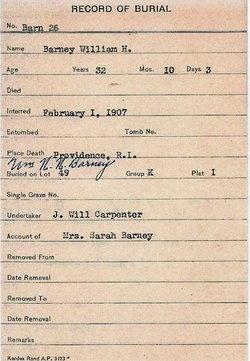 William Henry Will Barney, Jr