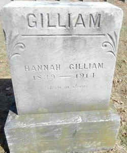 Hannah D <i>Nelson Singleton</i> Gilliam