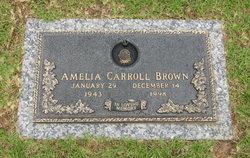 Amelia Carroll Brown