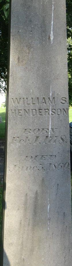 William Steele Henderson