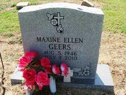 Maxine Ellen <i>Thurman</i> Geers