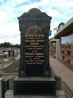 Mary Ellen <i>Trinder</i> Payne