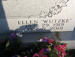 Ellen Mae <i>Hubbell</i> Bartels Wutzke