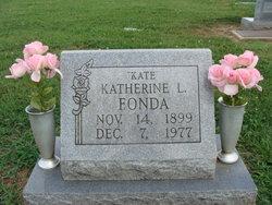 Katherine L Kate Fonda