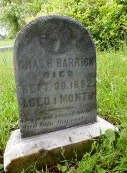 Charles H Barrick