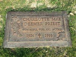 Charlotte Mae Charlie <i>Deemer</i> Priest