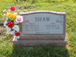 Mildred Kathleen <i>Fugett</i> Shaw