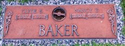 Clyde E Baker