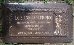 Lois Ann Farrer Pico