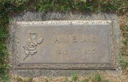 Ann B Lane