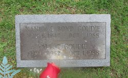 Nancy E <i>Boyd</i> Goudie
