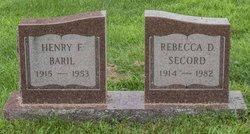 Rebecca D. <i>Secord</i> Baril