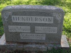 Sarah Ann Sallie <i>Walker</i> Henderson