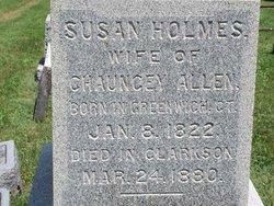 Susan <i>Holmes</i> Allen
