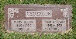 John Monson Cederlof
