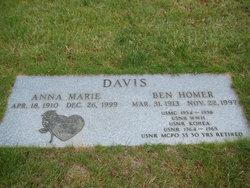 Anna Marie <i>Olsen</i> Davis