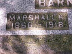 Marshall K. Barnhart