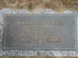 Marion H. <i>Tobey</i> Coon