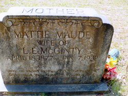 Mattie Maude McGinty