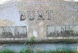 Ada R <i>Richards</i> Burt