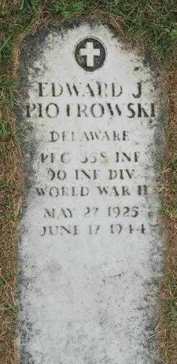 PFC Edward Joseph Piotrowski