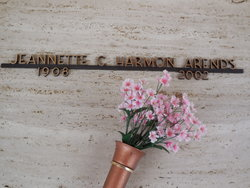 Jeannette C <i>Harmon</i> Arends