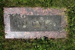 Carl Gustaf Wicks