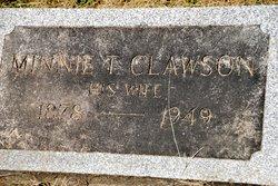 Minnie T <i>Clawson</i> Ader