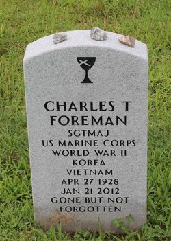 Sgt Charles T Foreman