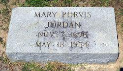 Mary <i>Purvis</i> Jordan