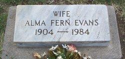 Alma Fern Evans
