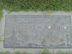 Eugene Willard Rosenlof