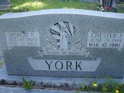 Margie Ruby <i>Thompson</i> York