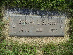 Bertha <i>Sittler</i> Burgess