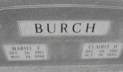 Clairee <i>Dominy</i> Burch
