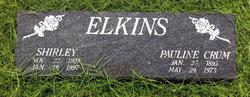 Pauline Polly <i>Crum</i> Elkins