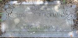 Flossie <i>Capps</i> Blackman