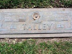 Georgia Ann <i>Stubblefield</i> Talley