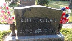 Anna Marie <i>Satrom</i> Rutherford