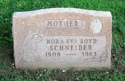 Nora Eva <i>Smith</i> Boyd Schneider