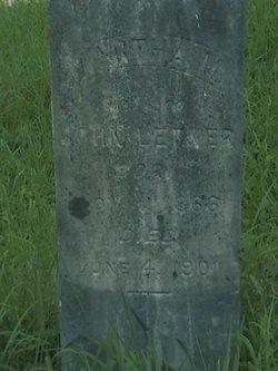 Martha M. <i>Perkins</i> Letner